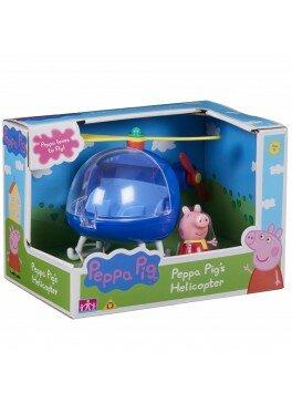 Игровой набор Peppa - ВЕРТОЛЕТ ПЕППЫ (вертолет, фигурка Пеппы) (06388)