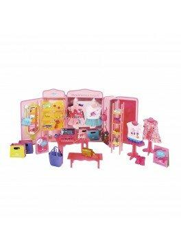 Интерактивный игровой набор для куклы BABY BORN - МОДНЫЙ БУТИК (звук, с аксессуарами) (824757)