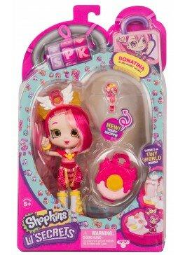 "Кукла SHOPKINS SHOPPIES серии ""Маленькие секреты"" - ДОНАТИНА (мини-шкатулка, аксессуары) (56940)"